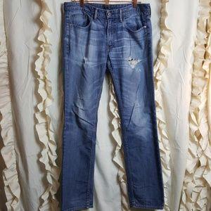 Bonobos The Blue Jean distressed slim straight